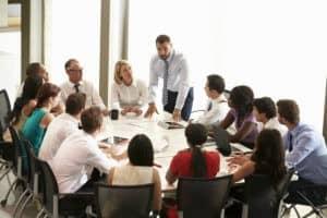 Übervolle Meetings...