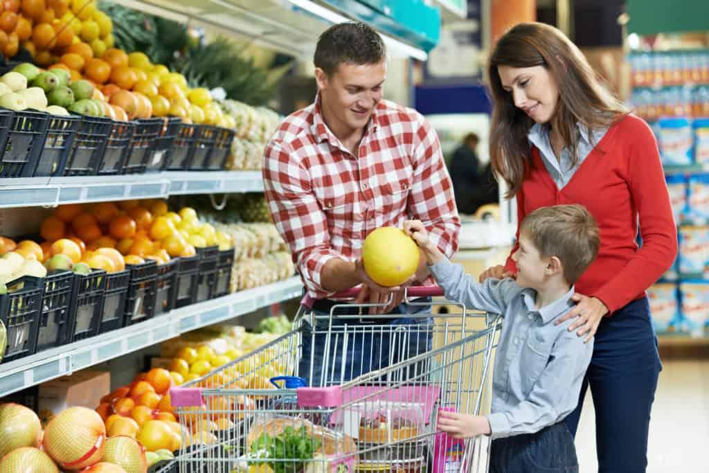 Einkaufen mit Checkliste