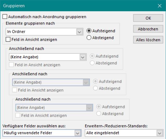 Outlook: automatische GTD-konforme Aufgaben-Tagesliste erstellen